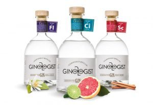 Ginologist Floral, Citrus and Spice Bottles