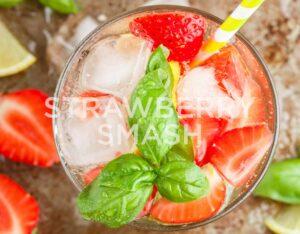 Strawberry Smash Gin Recipe